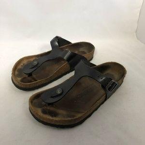 Birkenstock Gizeh sandal black 38